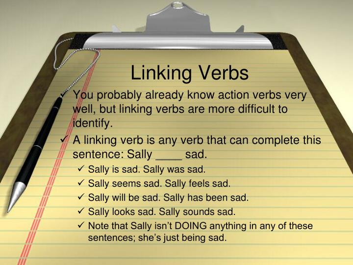 Linking Verbs