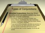 types of conjunctions1