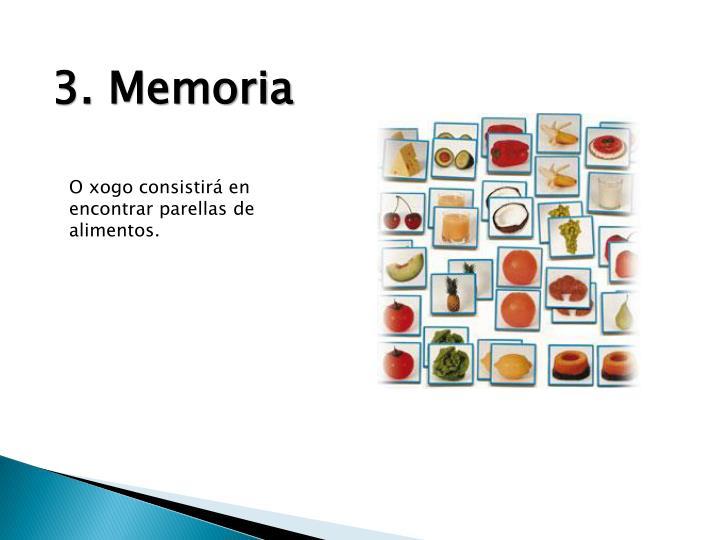 3. Memoria