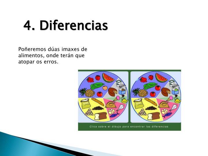 4. Diferencias