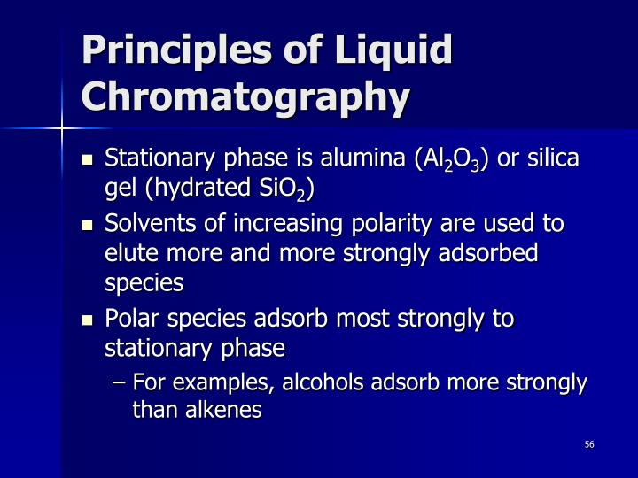 Principles of Liquid Chromatography