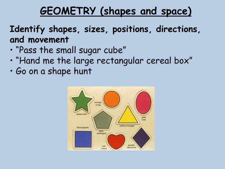 GEOMETRY (shapes and space)
