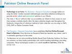 pakistan online research panel1