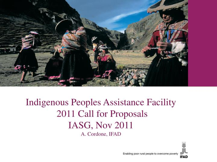 Indigenous Peoples Assistance Facility