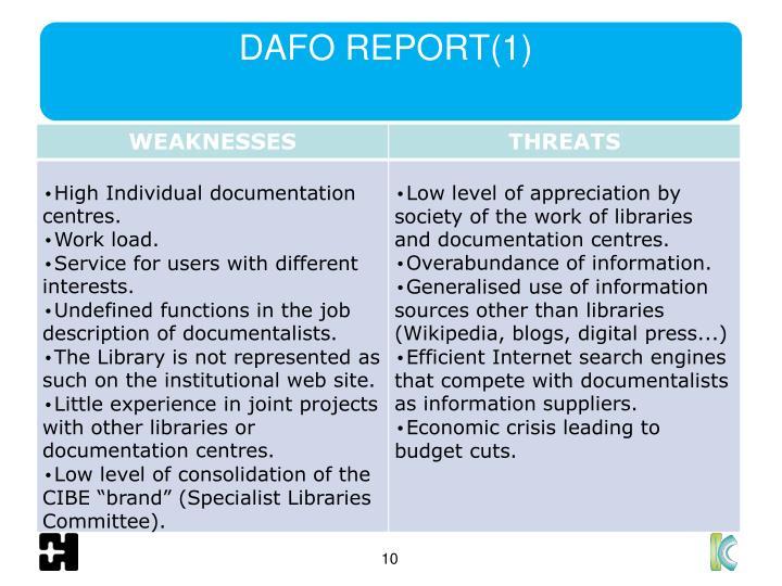 DAFO REPORT(1)