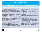 dafo report 2