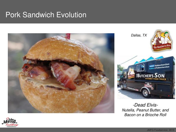 Pork Sandwich Evolution