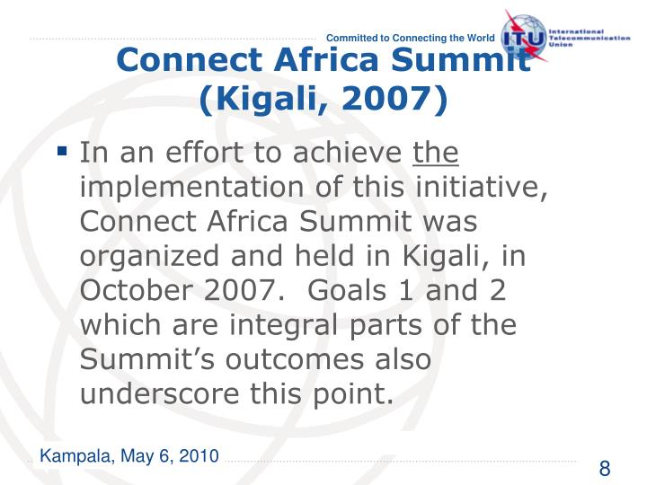 Connect Africa Summit (Kigali, 2007)