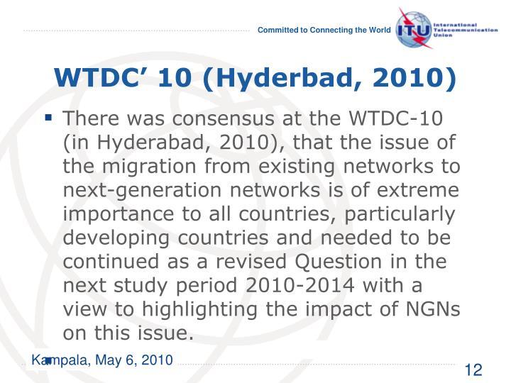 WTDC' 10 (