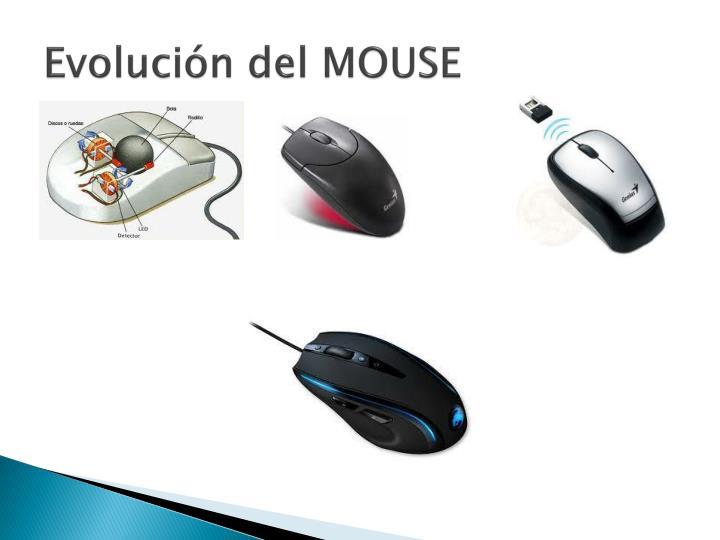 Evolución del MOUSE