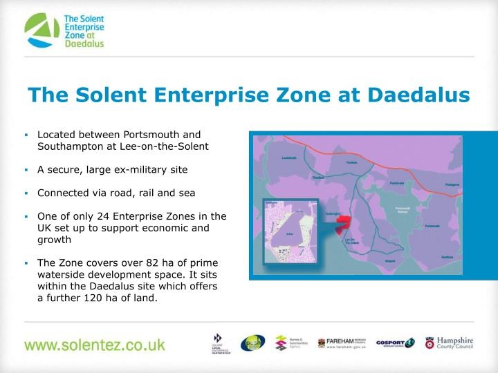 The Solent Enterprise Zone at Daedalus