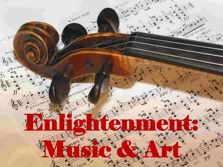 Enlightenment music art
