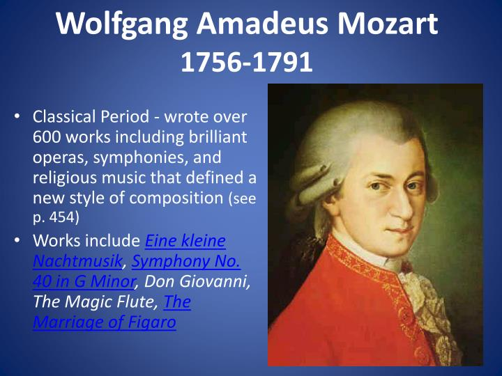 mozart biography essay Amadeus study guide contains a biography of milos forman, quiz questions, major themes, characters, and a full summary and analysis.