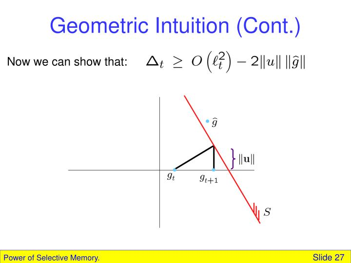 Geometric Intuition (Cont.)