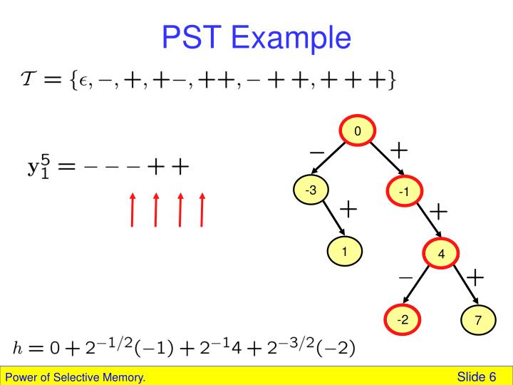 PST Example