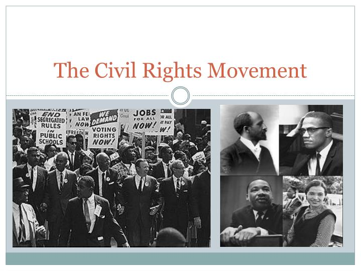 a look at the segregation and the civil rights movement