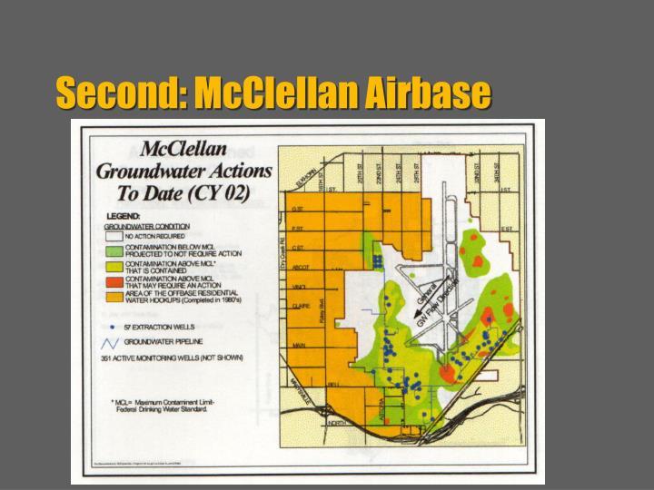 Second: McClellan Airbase