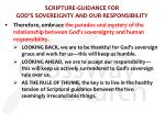 scripture guidance for god s sovereignty and our responsibility2