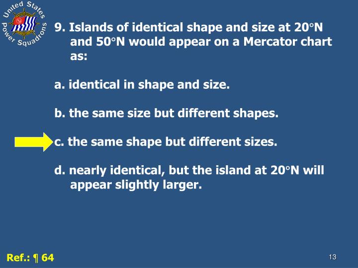 9. Islands of identical shape and size at 20