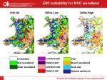 esc suitability for nvc woodland