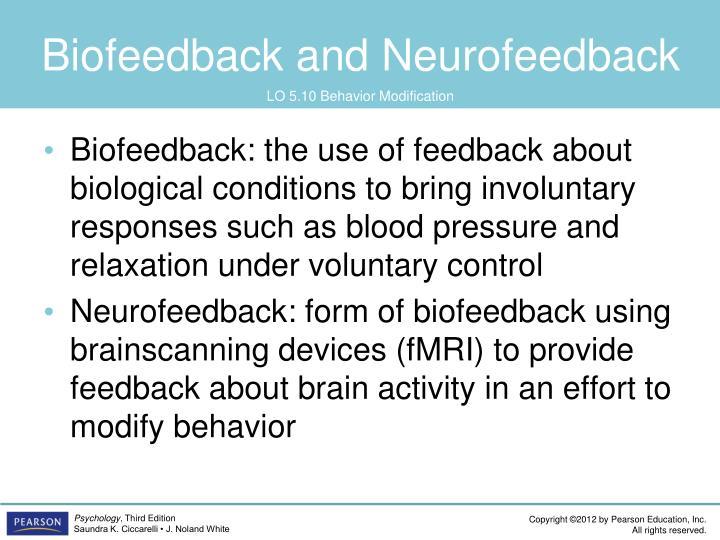 Biofeedback and Neurofeedback