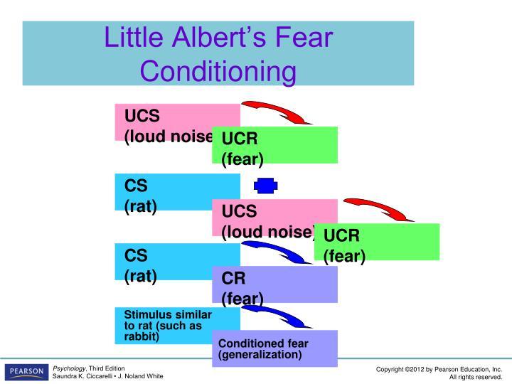 Little Albert's Fear Conditioning