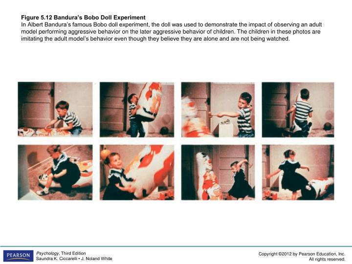 Figure 5.12 Bandura's Bobo Doll Experiment