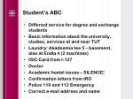 student s abc