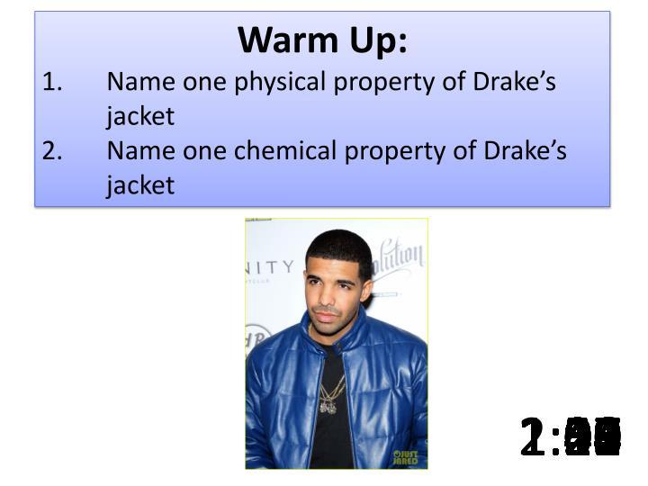 Warm Up:
