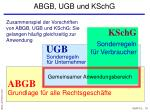 abgb ugb und kschg