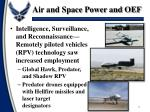 air and space power and oef5