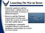 launching the war on terror2