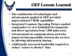 oef lessons learned4