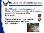 the global war on terror background1