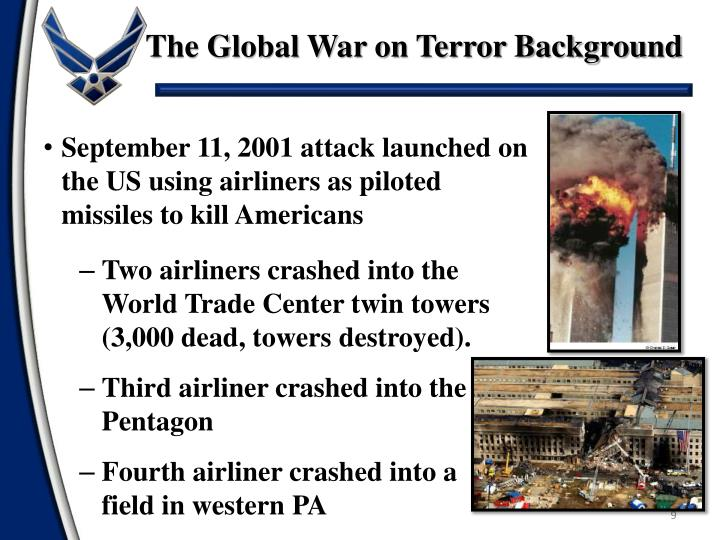 The Global War on Terror Background