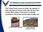 us national lessons learned from gwot3