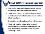 usaf gwot lessons learned1