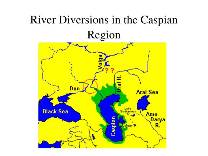 River Diversions in the Caspian Region