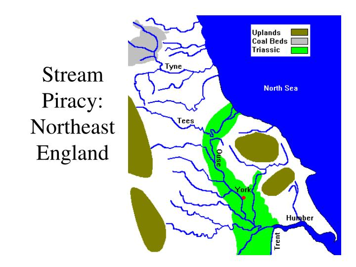 Stream Piracy: Northeast England