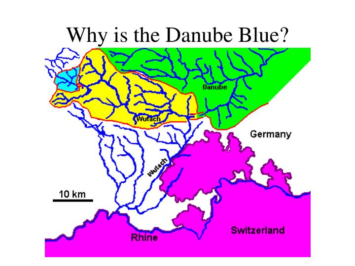 Why is the Danube Blue?
