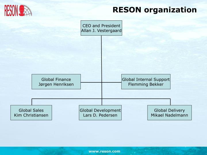 RESON organization