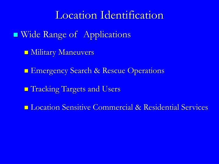 Location Identification