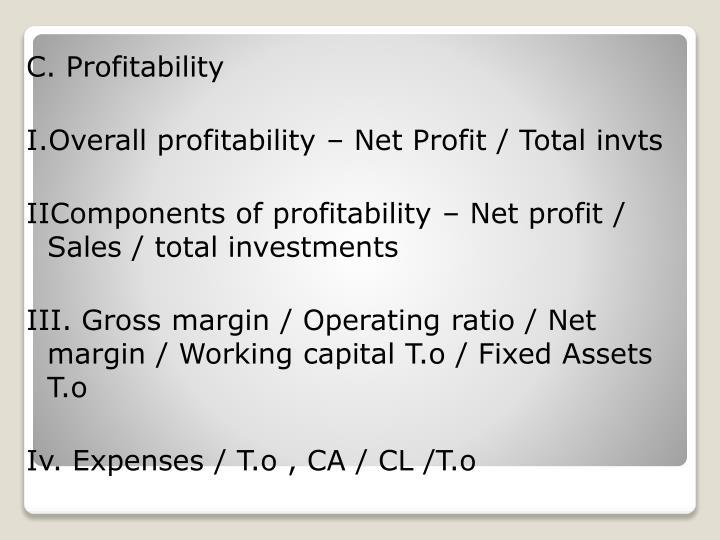 C. Profitability