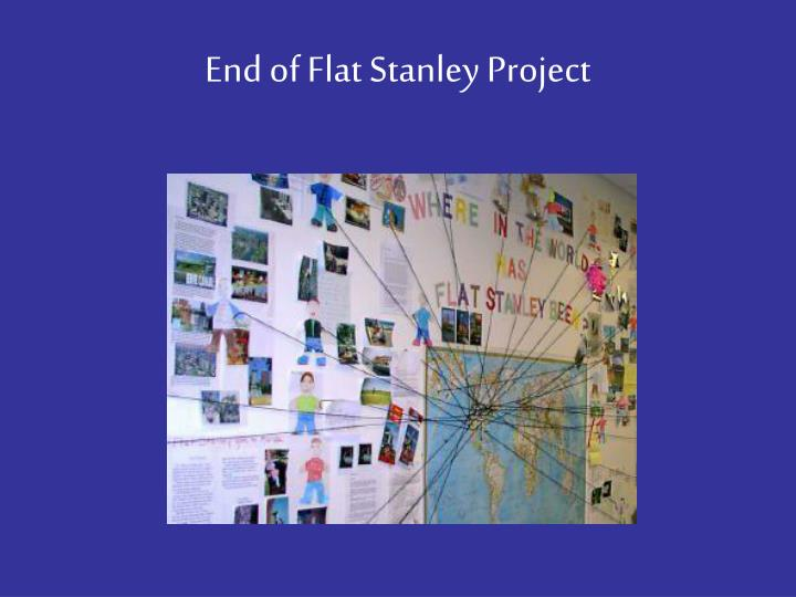 End of Flat Stanley Project