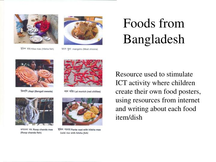 Foods from Bangladesh