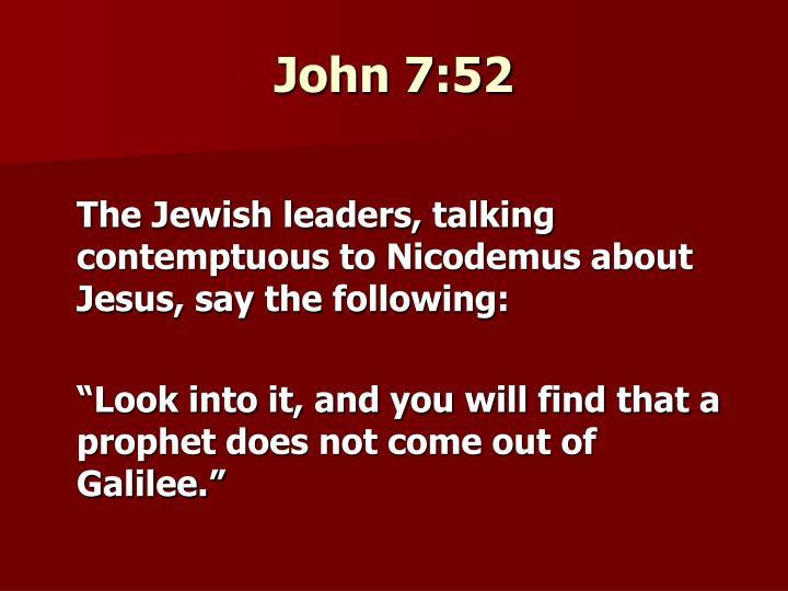 John 7:52