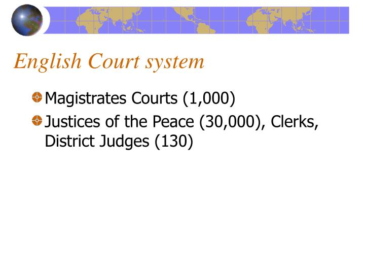 English Court system