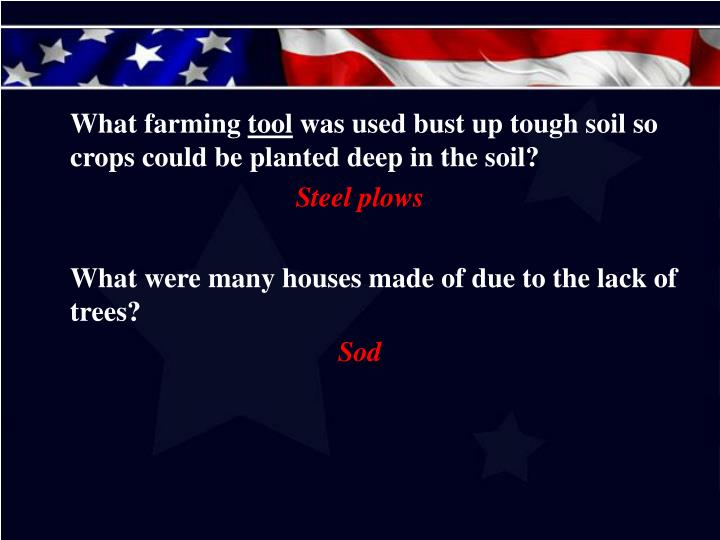 What farming