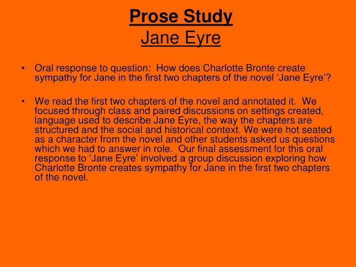 Prose Study