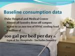 baseline consumption data1